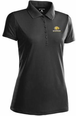 Southern Miss Womens Pique Xtra Lite Polo Shirt (Team Color: Black)