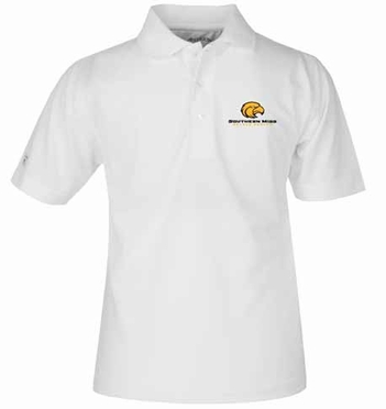 Southern Miss YOUTH Unisex Pique Polo Shirt (Color: White)