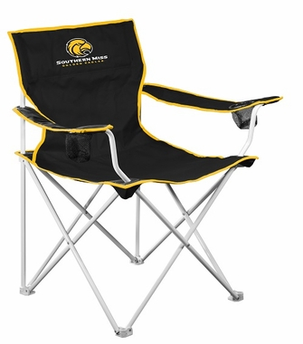 Southern Mississippi Deluxe Adult Folding Logo Chair