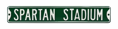 Spartan Stadium Street Sign
