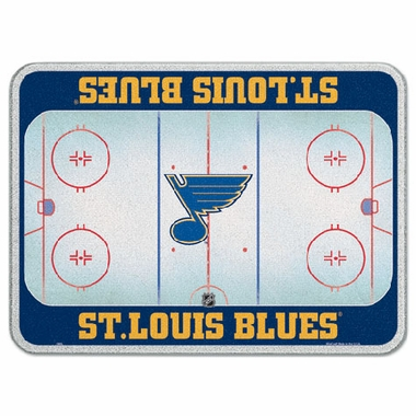 St Louis Blues 11 x 15 Glass Cutting Board