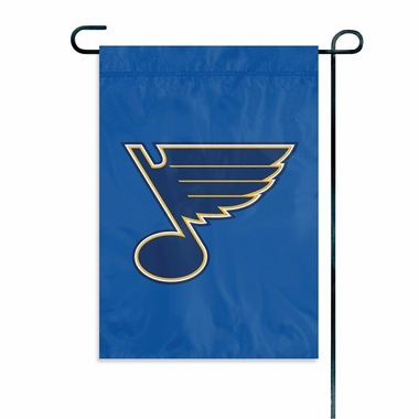 St Louis Blues 11x15 Garden Flag