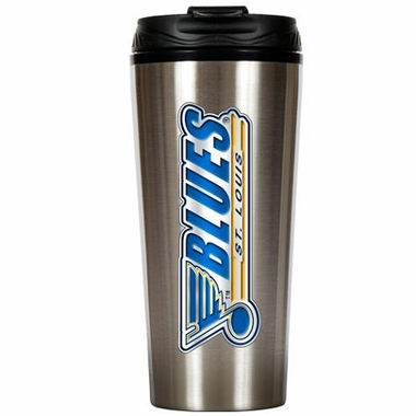 St Louis Blues 16 oz. Thermo Travel Tumbler