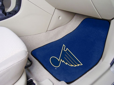 St Louis Blues 2 Piece Car Mats