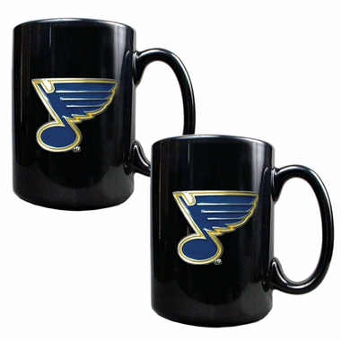 St Louis Blues 2 Piece Coffee Mug Set