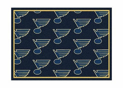 "St Louis Blues 3'10"" x 5'4"" Premium Pattern Rug"
