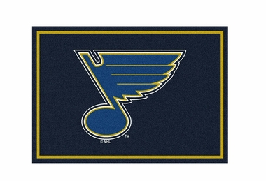 "St Louis Blues 3'10"" x 5'4"" Premium Spirit Rug"