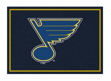"St Louis Blues 5'4"" x 7'8"" Premium Spirit Rug"