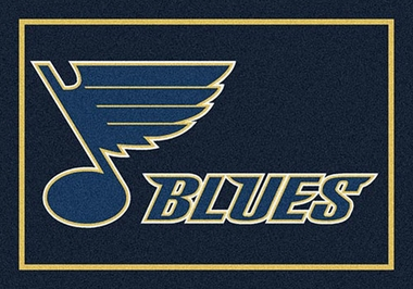 "St Louis Blues 7'8"" x 10'9"" Premium Spirit Rug"