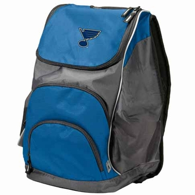 St Louis Blues Action Backpack (Color: Royal)
