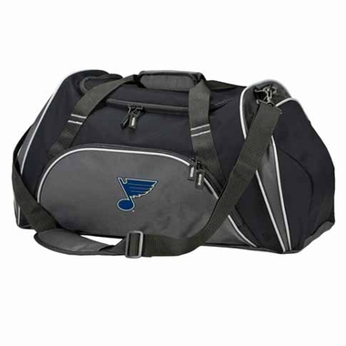 St Louis Blues Action Duffle (Color: Black)