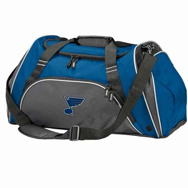 St Louis Blues Action Duffle (Color: Royal)