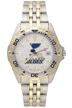 St Louis Blues All Star Mens (Steel Band) Watch