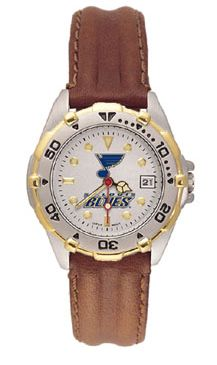 St Louis Blues All Star Womens (Leather Band) Watch