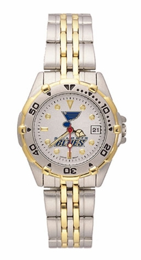St Louis Blues All Star Womens (Steel Band) Watch