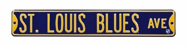 St. Louis Blues Ave Street Sign