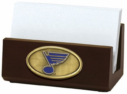 St Louis Blues Business Card Holder