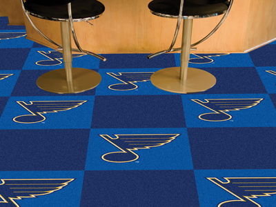 St Louis Blues Carpet Tiles