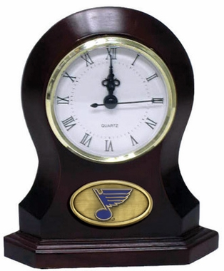 St Louis Blues Desk Clock