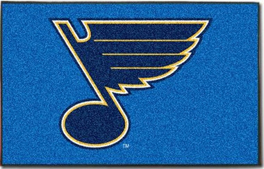 St Louis Blues Economy 5 Foot x 8 Foot Mat