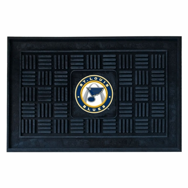 St Louis Blues Heavy Duty Vinyl Doormat