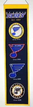 St Louis Blues Heritage Banner