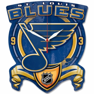 St Louis Blues High Definition Wall Clock