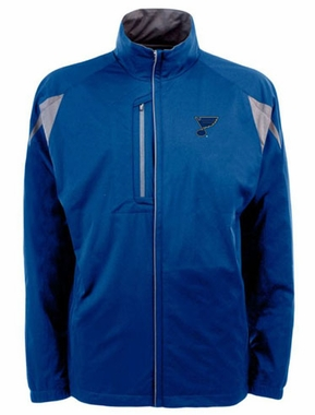 St Louis Blues Mens Highland Water Resistant Jacket (Team Color: Royal)