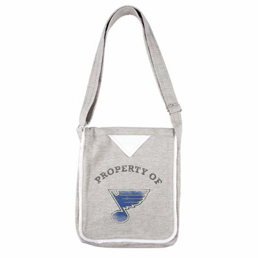 St Louis Blues Hoodie Crossbody Bag