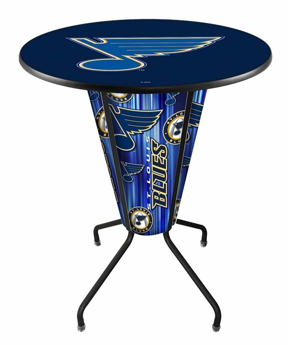 St Louis Blues Led Pub Table