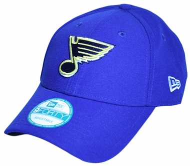 "St. Louis Blues New Era 9Forty ""The League"" Adjustable Hat"