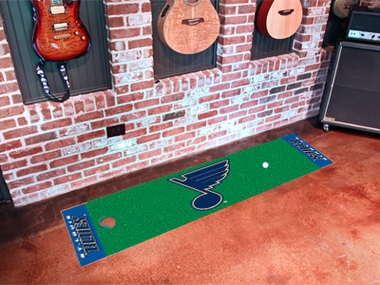 St Louis Blues Putting Green Mat