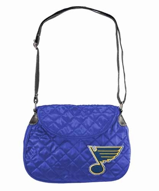 St Louis Blues Quilted Saddlebag