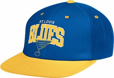 St Louis Blues Retro Arch Snapback Hat