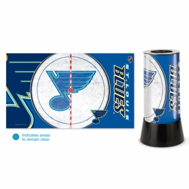 St Louis Blues Rotating Lamp
