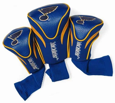 St Louis Blues Set of Three Contour Headcovers