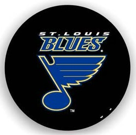 St. Louis Blues Black Tire Cover - Standard Size