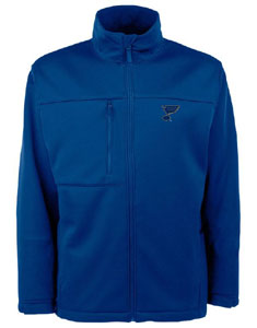 St Louis Blues Mens Traverse Jacket (Team Color: Royal) - Large