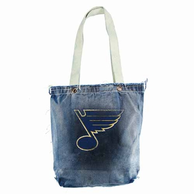 St Louis Blues Vintage Shopper (Denim)