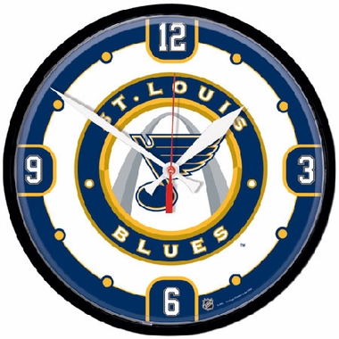 St Louis Blues Wall Clock