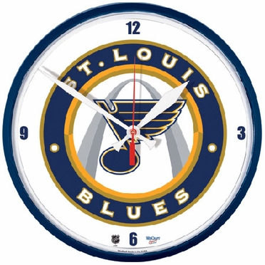 St Louis Blues Wall Clock (Alternate)