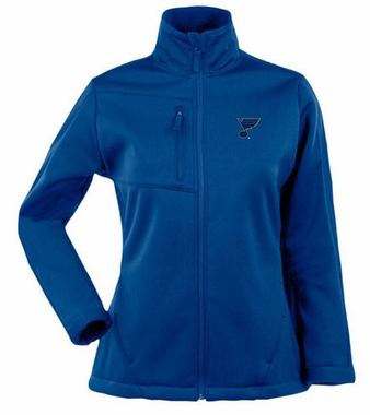 St Louis Blues Womens Traverse Jacket (Color: Royal)