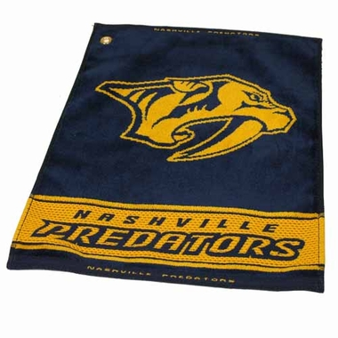 St Louis Blues Woven Golf Towel