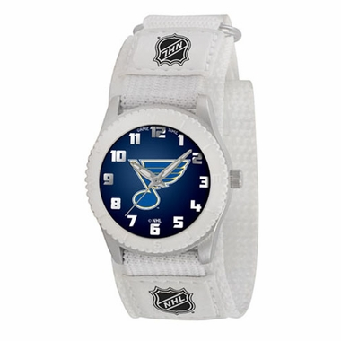 St Louis Blues Youth Rookie Watch (White)