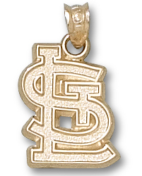 St Louis Cardinals 10K Gold Pendant
