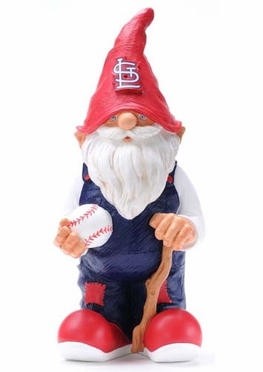 St Louis Cardinals 11 Inch Garden Gnome