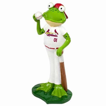 St. Louis Cardinals 12 Inch Frog Player Figurine