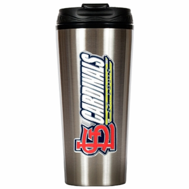 St Louis Cardinals 16 oz. Thermo Travel Tumbler