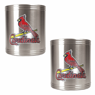 St Louis Cardinals 2 Can Holder Set