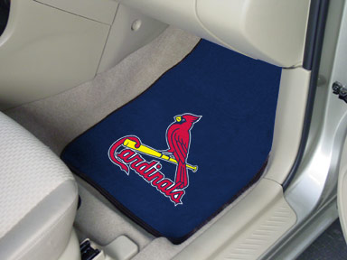 St Louis Cardinals 2 Piece Car Mats
